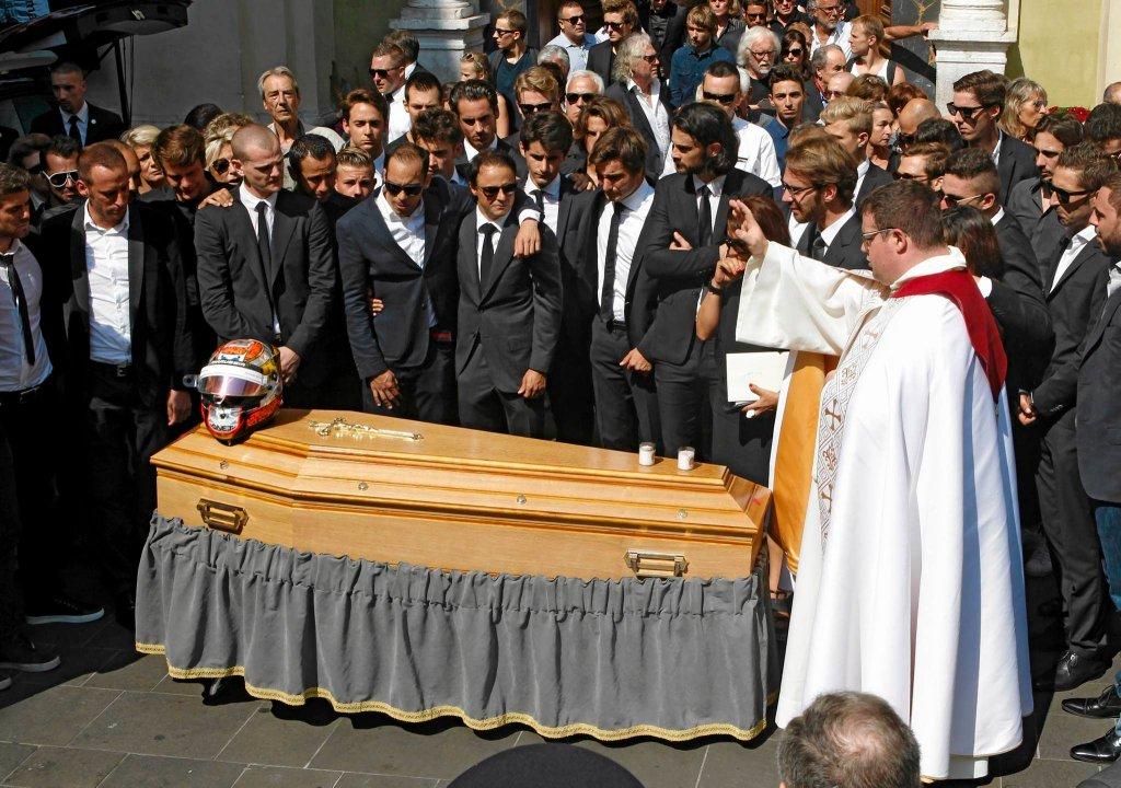 Uroczystość pogrzebowa Julesa Bianchiego