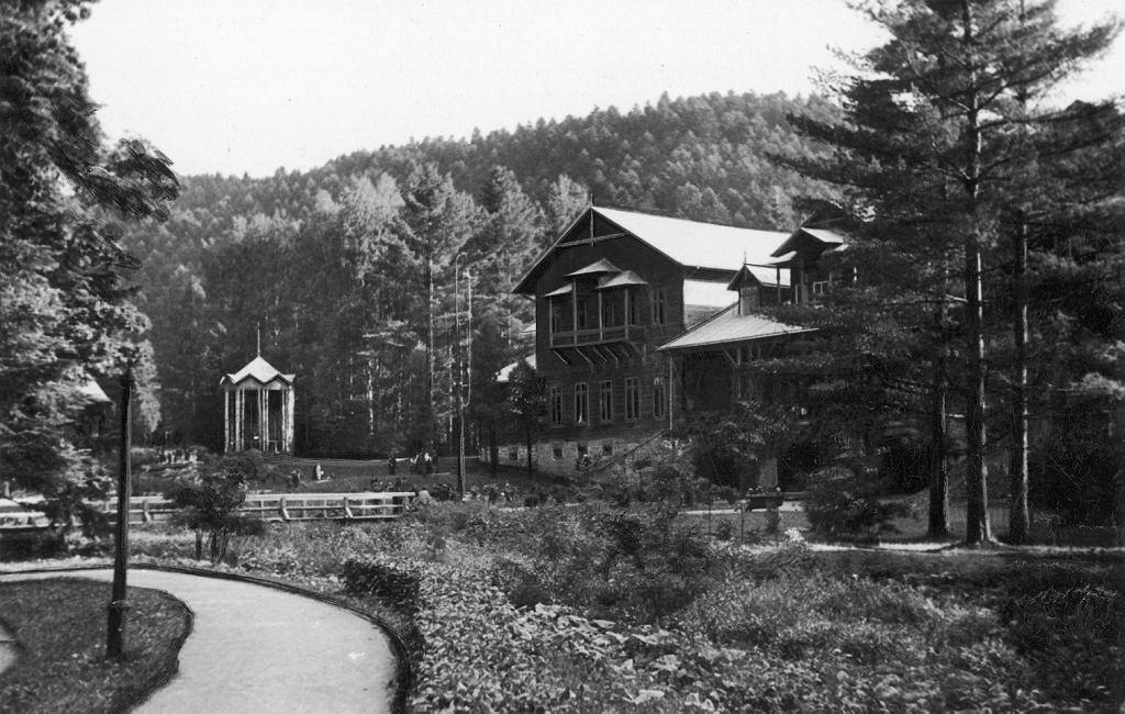 Dom zdrojowy w Rymanowie Zdroju, 1937 r. / NAC