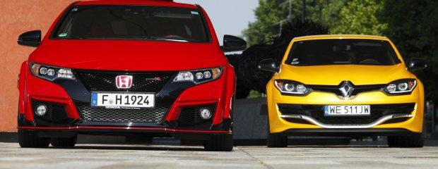 Honda Civic Type R vs. Renault Megane R.S. Trophy | Porównanie | Japonia kontratakuje