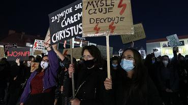 Protest Strajku Kobiet