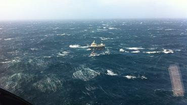 Akcja służb ratowniczych Wysp Owczych