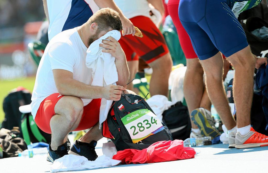 Paweł Fajdek odpadł w eliminacjach rzutu młotem na turnieju olimpijskim w Rio de Janeiro