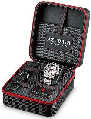 Nowa kolekcja zegarków Aztorin, kolekcje, moda męska, zegarki, Każdy model z limitowanej linii ma w zestawie dodatkowy pasek kauczukowy. Wymiana bransolety na pasek zmienia styl zegarka
