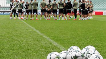 Legia Warszawa na treningu