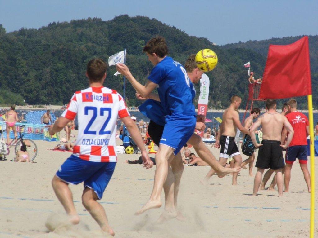 Turniej piłki nożnej plażowej Patrick Cup w Sopocie