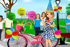 Ubieranka: rower na urodziny