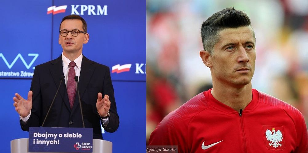Morawiecki i Lewandowski