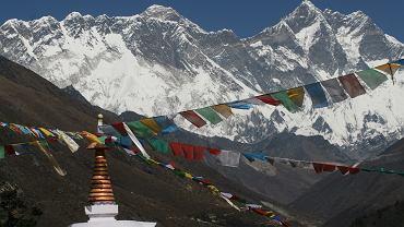 Mount Everest. Zdjęcie ilustracyjne
