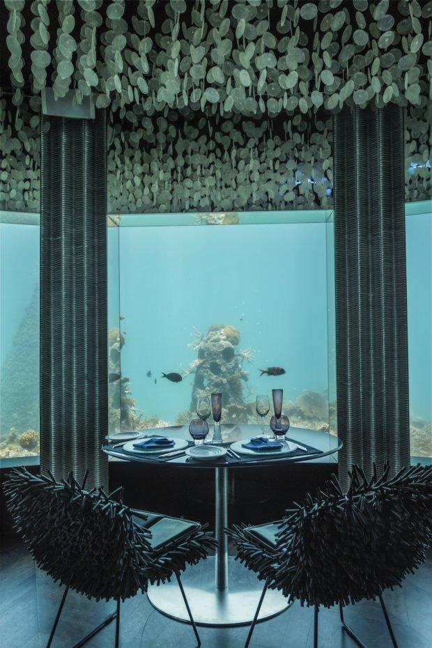 Podwodny klub Subsix na Malediwach