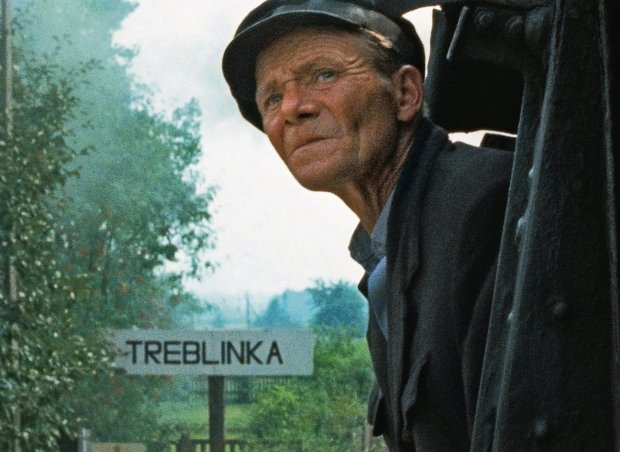 W 'Shoah' występuje Henryk Gawkowski, maszynista prowadzący pociągi do Treblinki.