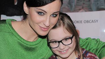 Maja Hirsch z córką Marią
