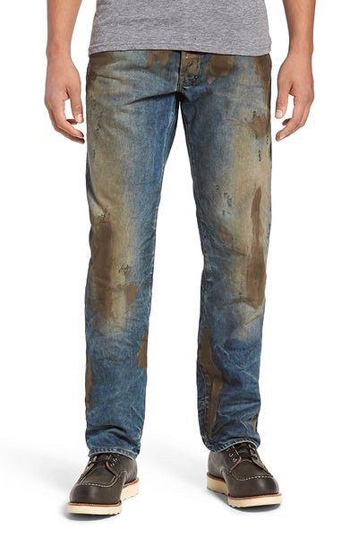 Kiedyś ubłocone spodnie zmieniało się po pracy, teraz to styl wart niemałe pieniądze