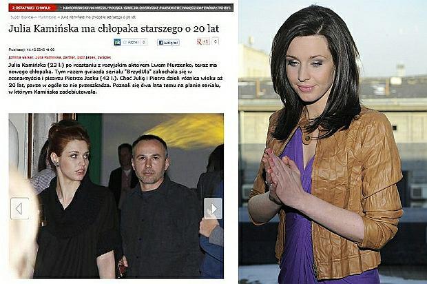 Julia Kamińska ma 20 lat starszego partnera