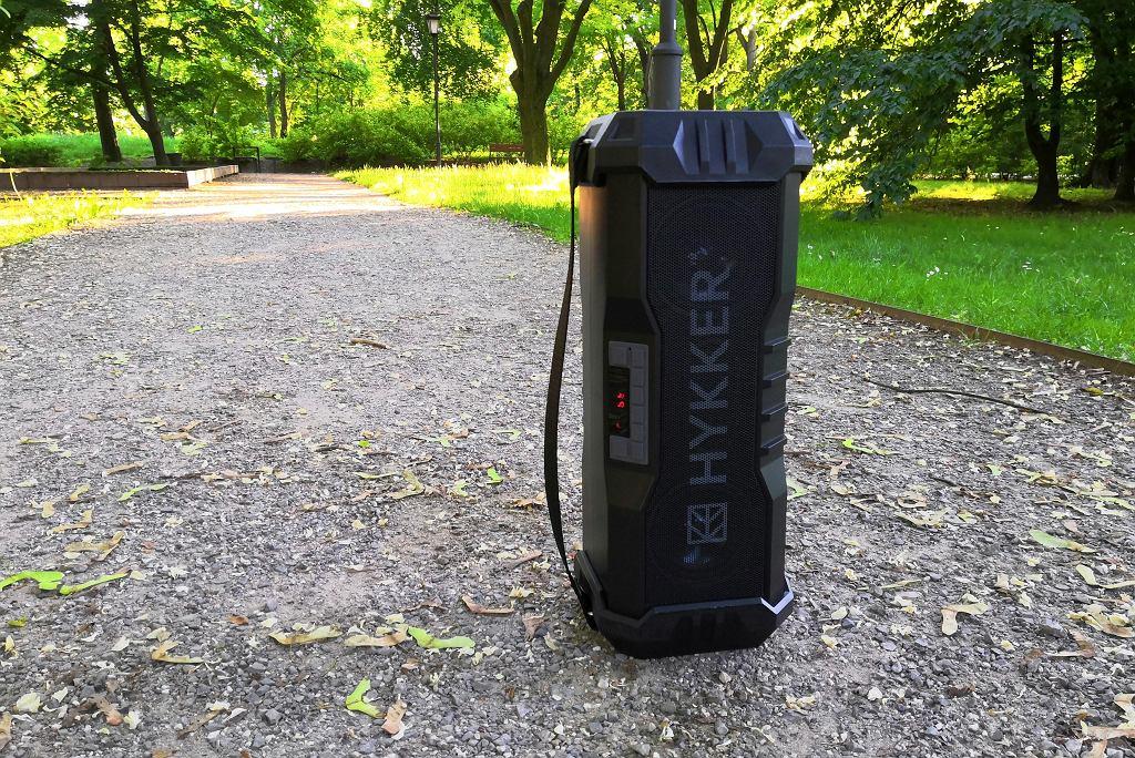 Głośnik warsztatowo-campingowy Hykker Craft