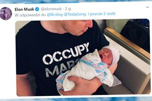 Elon Musk i jego o 17 lat młodsza partnerka wspólnie powitali swoje pierwsze dziecko