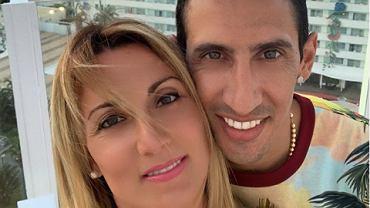 Jorgelina Cardoso i Angel Di Maria podczas wakacji. Źródło: Instagram