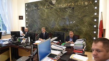 Posiedzenie Krajowej Rady Sądownictwa.