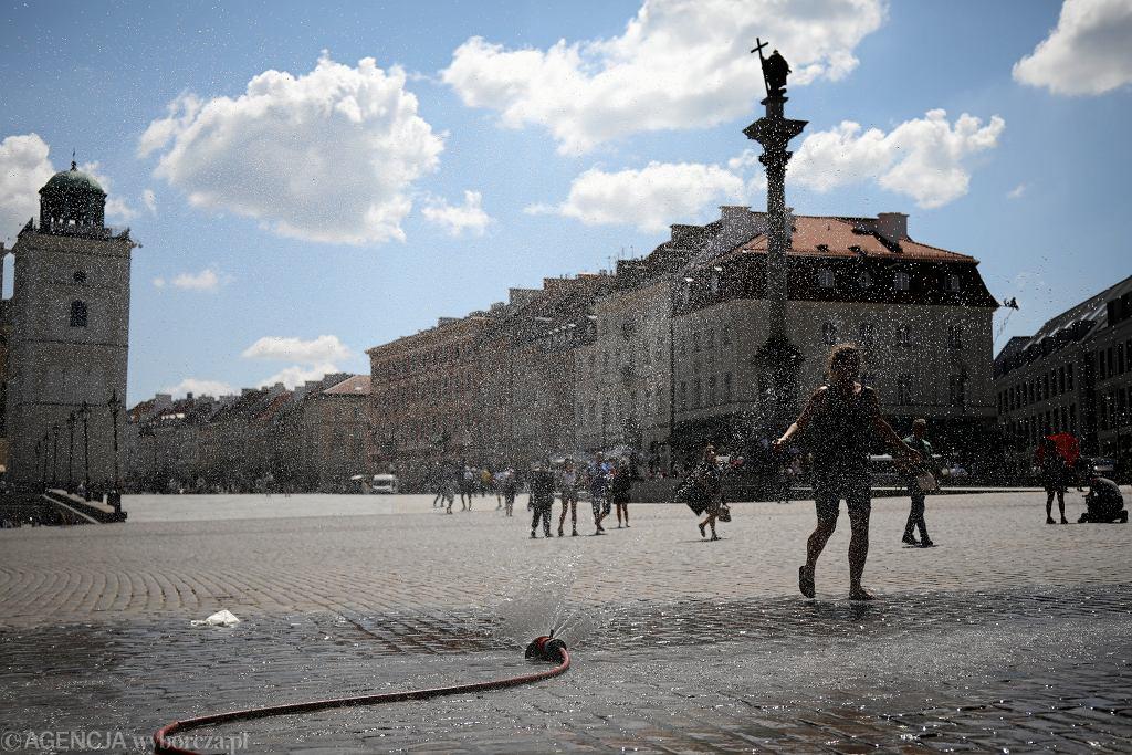 Upał w Warszawie. Rekordowe zapotrzebowanie na moc