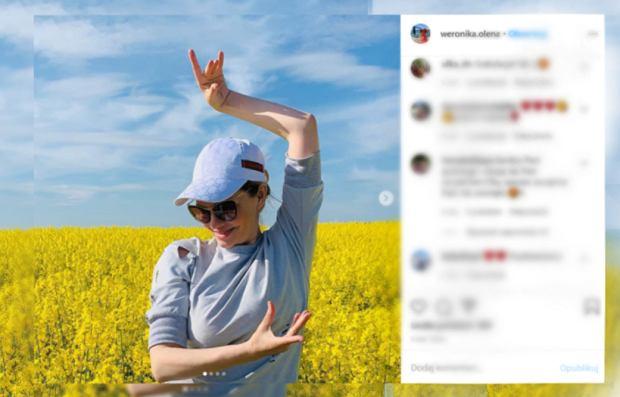 Weronika Marczuk w nagiej ciążowej sesji. Pokazała zdjęcie, które trafi na okładkę