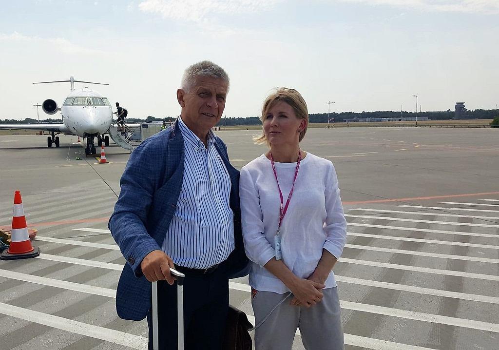Marek Belka korzysta z łódzkiego lotniska