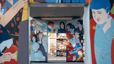 Mural 'Kobiety Wolności' w Gdańsku