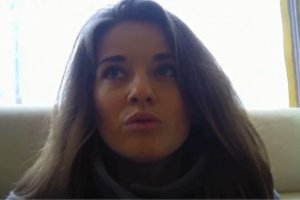 Bohaterka filmu I am a Ukrainian'.