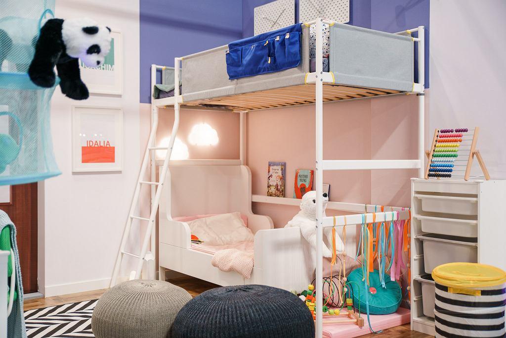 Łóżko na antresoli VITVAL.
