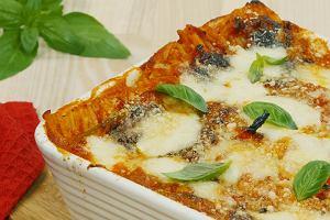Szybki obiad - pieczone spaghetti bez gotowania makaronu