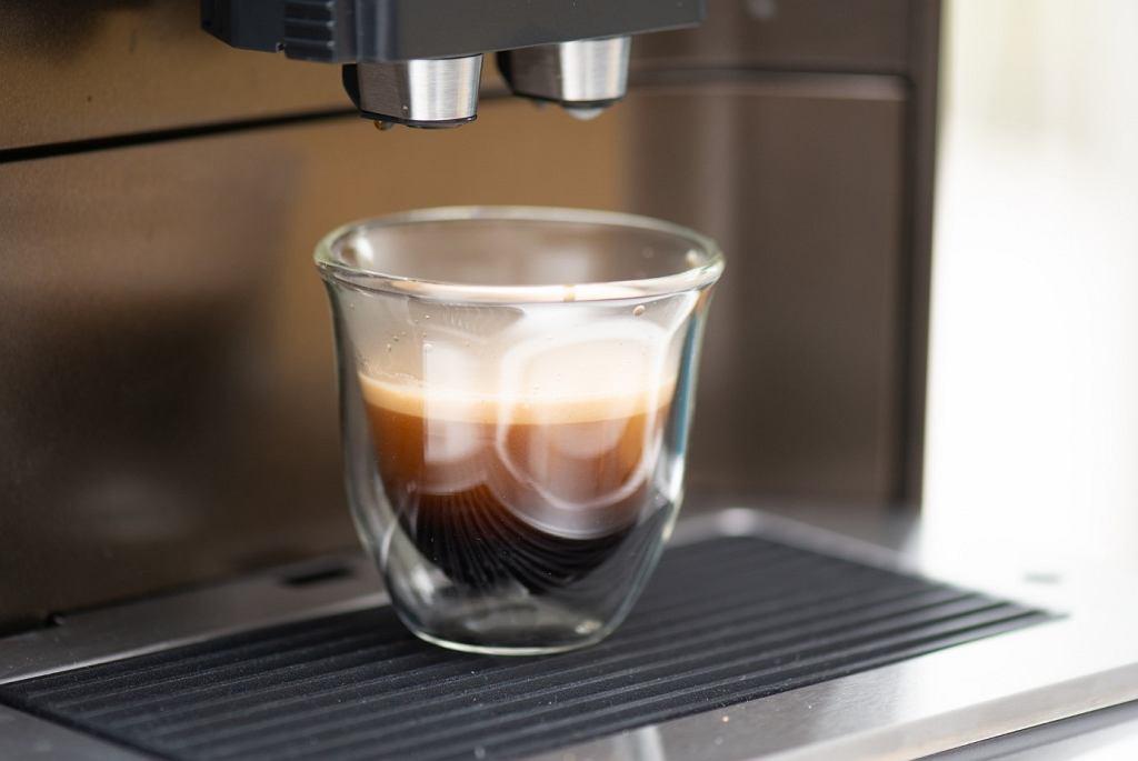 Espresso z ekspresu Siemens