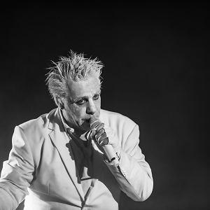 Till Lindemann na koncercie w Moskwie