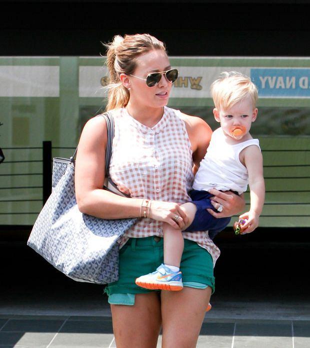 Hilary Duff, syn, Luca.
