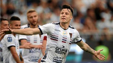 Zvonimir Kozulj podczas meczu Legia Warszawa - Pogon Szczecin