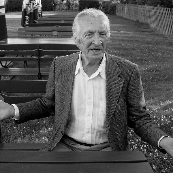 Andrzej Kopiczyński w Międzyzdrojach w 2008 r.
