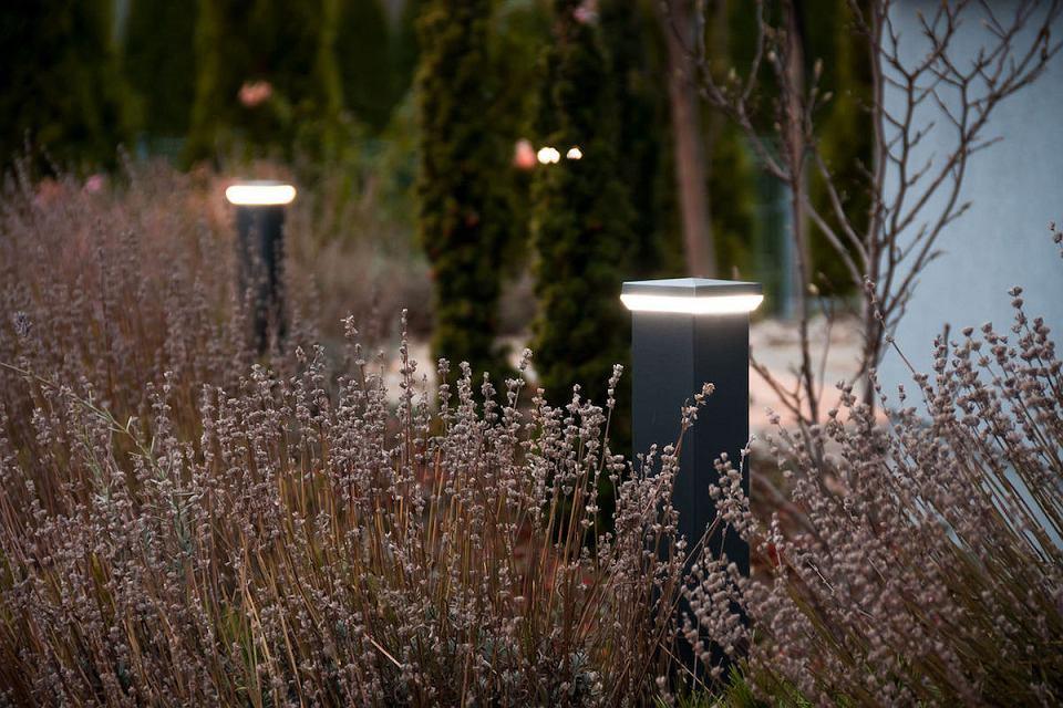 Oświetlenie ogrodowe LED.