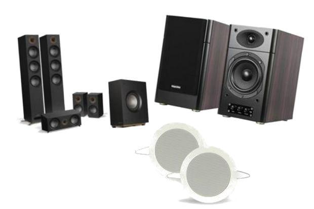 Głośniki 2.0, 2.1, 5.1