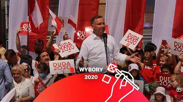 Andrzej Duda we Wrocławiu