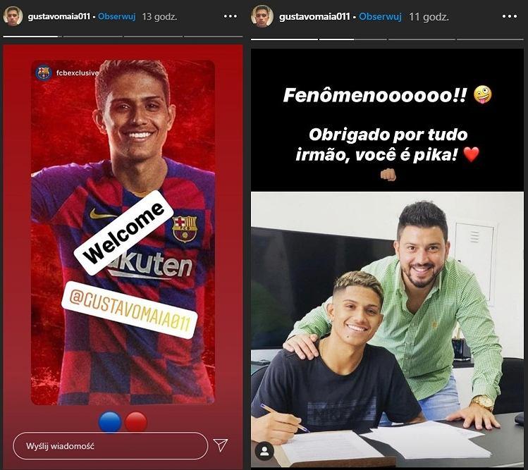 Gustavo Maia piłkarzem FC Barcelony