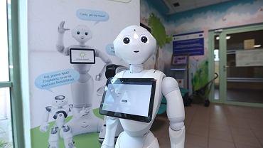 Roboty rozpoczynają pracę w Centrum Pediatrii w Sosnowcu