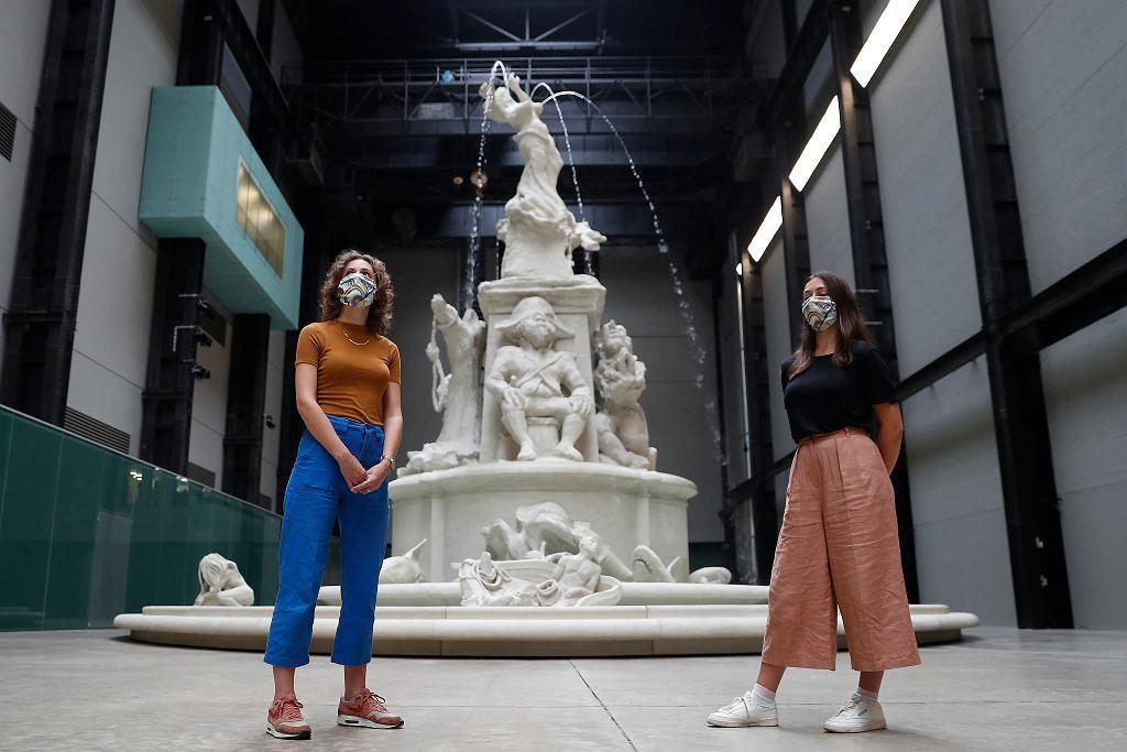 Galeria Tate Modern w Londynie po przerwie z powodu koronawirusa otworzyła się 27 lipca