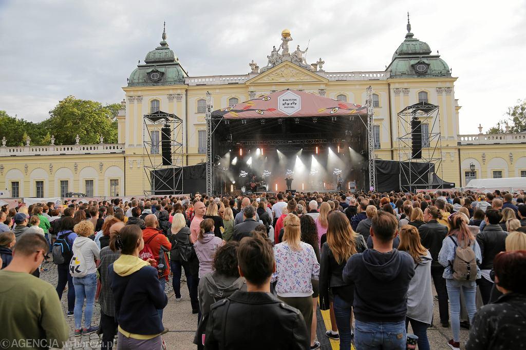 14.07.2019 Białystok , Pałac Branickich . New Pop Festival .