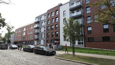 Budynki TBS 'Motława' przy ul. Kieturakisa na Dolnym Mieście w Gdańsku