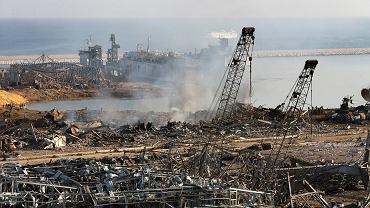Izrael zaprzecza, jakoby miał coś wspólnego z wybuchem w Bejrucie