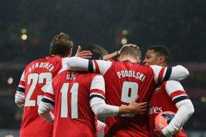 Puchar Anglii. Skuteczny Podolski, czujny Fabiański. Arsenal w 1/8 finału