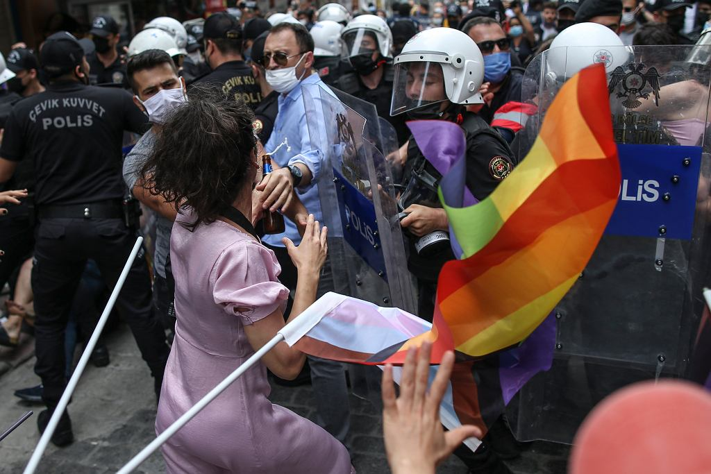 Parada Pride w Stambule