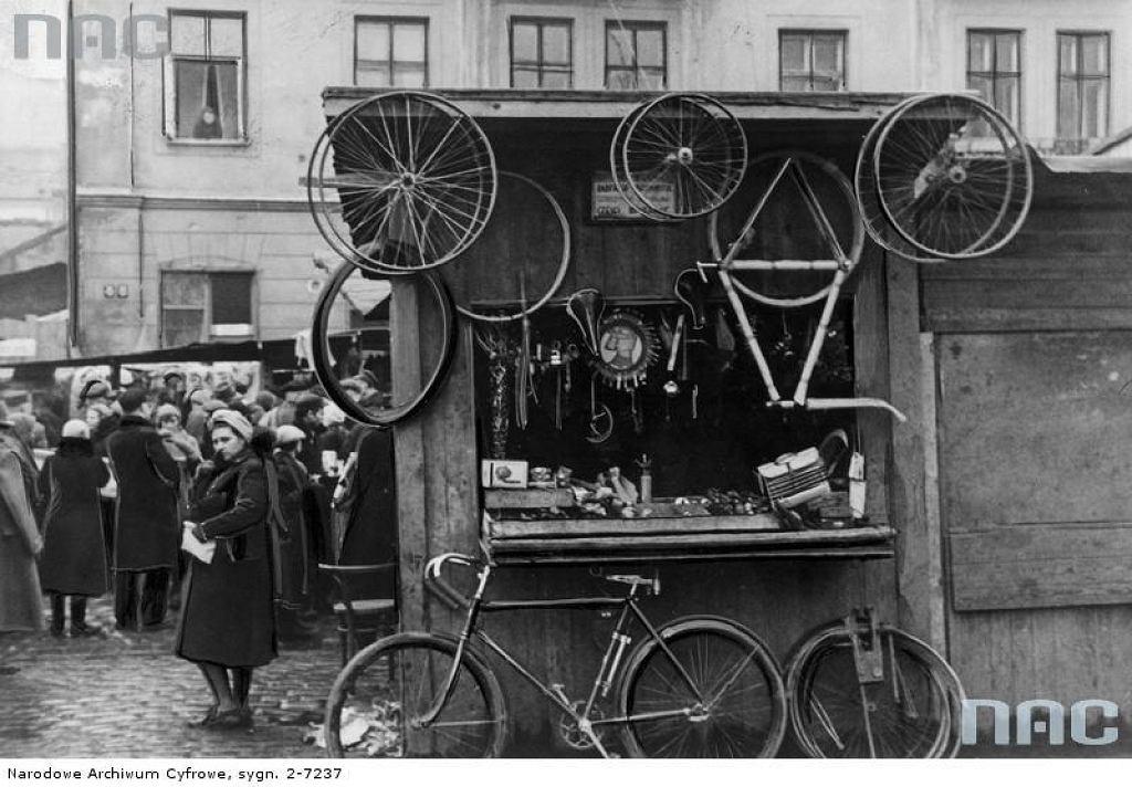 Stojak dla rowerów