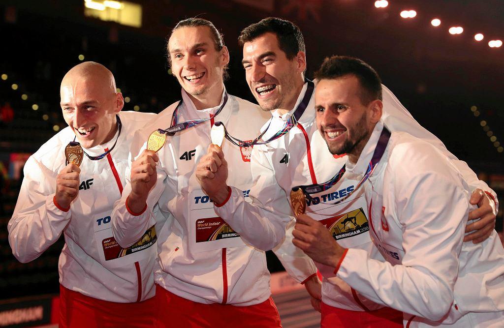 Jakub Krzewina, Karol Zalewski, Rafal Omelko i Lukasz Krawczuk