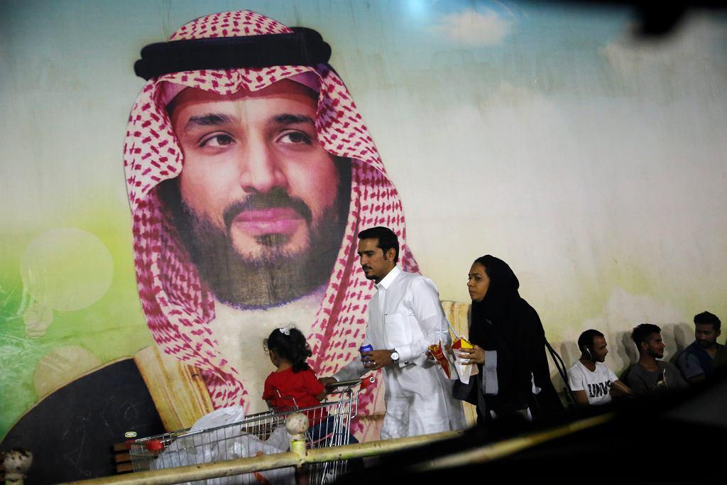 Arabia Saudyjska po ataku na rafinerie. Na zdjęciu książę koronny, następca tronu Mohammed bin Salman. Zdjęcie ilustracyjne