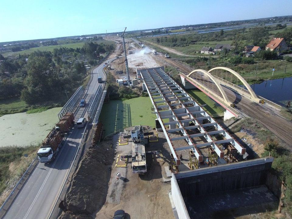 Budowa drogi S5. Powstaje nowy most na Kanale Bydgoskim