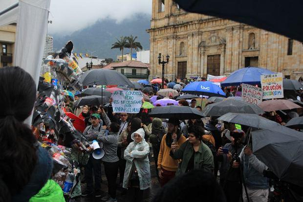 Strajk klimatyczny w Bogocie