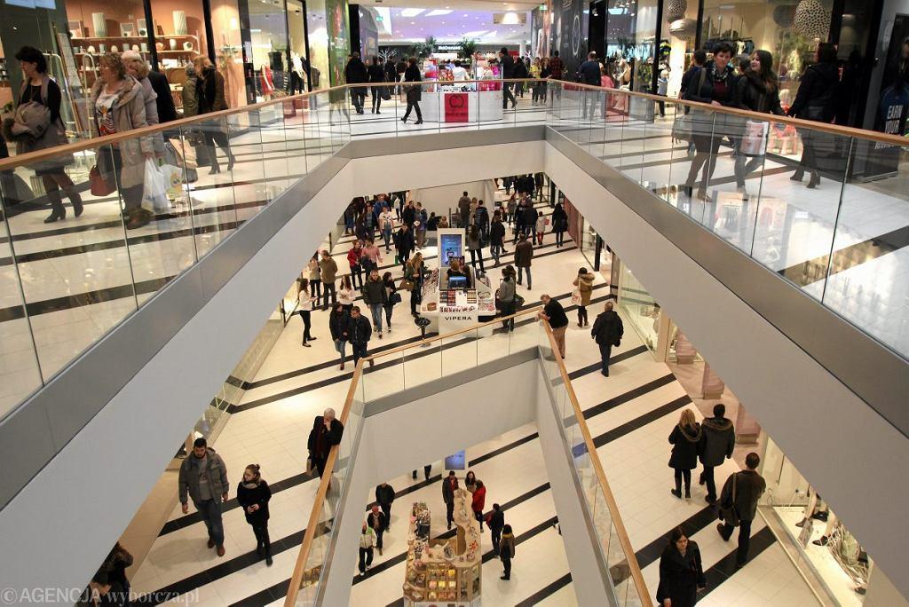 Zakupy w galerii handlowej
